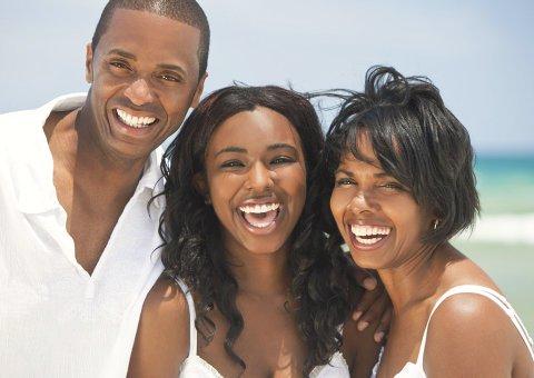 smiling people